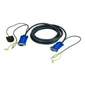 ATEN 1.8M Port Switching VGA Cable
