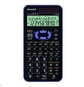 SHARP kalkulačka - EL520XVL - černo-fialová, vědecká