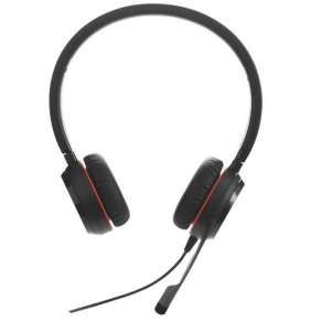 Jabra Evolve 20, Duo, USB, MS, leather