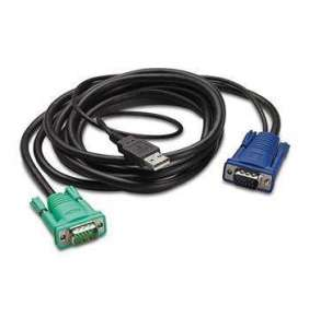 APC Integrated LCD KVM USB CABLE - 6 ft (1.8m)