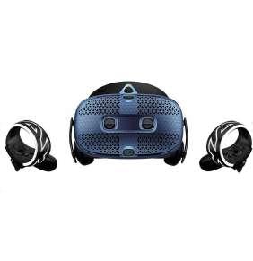 HTC Vive COSMOS Brýle pro virtuální realitu / 6x interní snímací kamera / 2x ovládač / link box / kompletní kabeláž