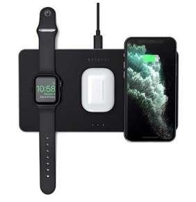 Satechi Trio Wireless Charging Pad - Space Gray