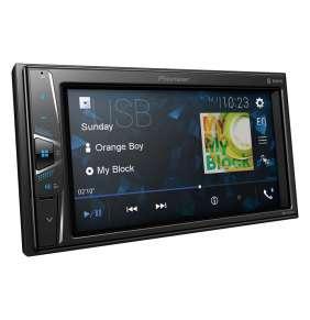 "Pioneer DMH-G220BT DVD AV systém, 6,2"" dot. obraz. WVGA., Bluetooth (A2DP / HFP / AVRCP), vestavěný mikrofon"