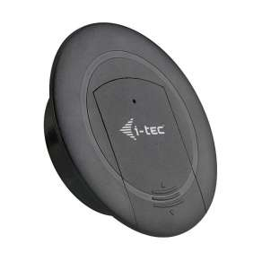 i-tec Built-in Desktop Fast Charger, USB-C PD 3.0 + 3x USB 3.0 QC3.0, 96W