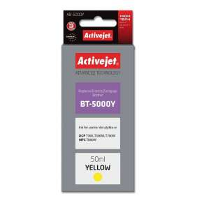 ActiveJet ink for Brother BT-5000Y new AB-5000Y Yellow 50 ml Compatible