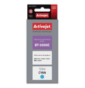 Atrament ActiveJet pre Brother BT-5000C AB-5000C Cyan 50 ml