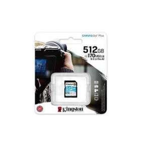 512 GB .SDXC karta Kingston . Canvas Go Plus