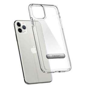 Spigen kryt Ultra Hybrid S pre iPhone 11 Pro - Crystal Clear