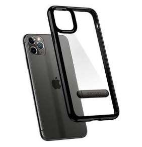 Spigen kryt Ultra Hybrid S pre iPhone 11 Pro - Jet Black