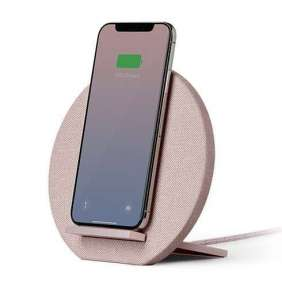 Native Union Dock 10W Wireless Charging Stand – Rose