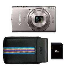 Canon IXUS 285 HS Silver Ess. Kit (16GB + DCC-1350)