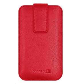 CONNECT IT U-COVER univerzální pouzdro na mobilní telefon, červená (velikost L)