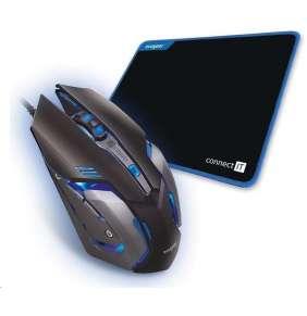 CONNECT IT EVOGEAR set herní myši a podložky