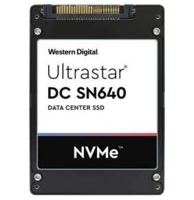 """SSD 3.84TB WD Ultrastar DC SN640 2,5"""" NVMe U.2 7mm"""