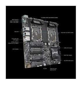 ASUS PRO WS X570-ACE AM4 X570 DDR4 ATX 4xPCIe RAID 1xGL  USB3.0