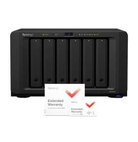 Synology DS1618+ DiskStation (4C/AtomC3538/2,1GHz/4GBRAM/6xSATA/3xUSB3.0/2xeSATA/4xGbE/1xPCIe) + záruka 5 let