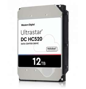 WD Ultrastar DC HC520, 3.5', 12TB, SATA/600, 7200RPM ~ WD121KRYZ