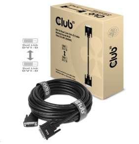 Club3D kabel DVI-D Dual Link, 10m