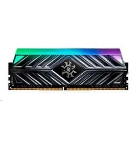 DIMM DDR4 16GB 2666MHz CL16 ADATA SPECTRIX D41 RGB, -BR41 memory, Bulk
