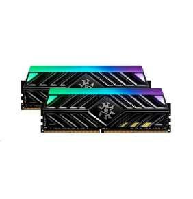 DIMM DDR4 32GB 3000MHz CL16 (KIT 2x16GB) ADATA SPECTRIX D41 RGB, -DR41 memory, Dual Color Box