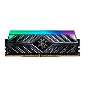DIMM DDR4 8GB 3200MHz CL16 ADATA SPECTRIX D41 RGB, -ST41 memory, Single Color Box