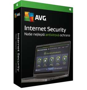 AVG Internet Security for Windows 5 PCs (2 years)
