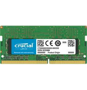8GB DDR4 2666 MT/s (PC4-21300) CL19 SR x8 Crucial Unbuffered SODIMM 260pin