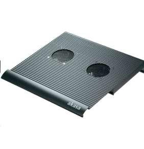 """AKASA chladič notebooku AK-NBC-01B, Classic, 15"""" ntb, aktivní, hliník, černá"""