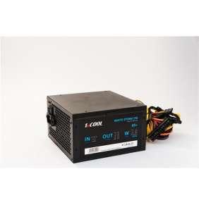 Zdroj 350W 1stCOOL WHITE STORM 350, účinnosť 85+, 12cm ventilátor, bulk