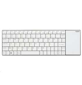 RAPOO klávesnice E2710 Wireless Keyboard With TouchPad White