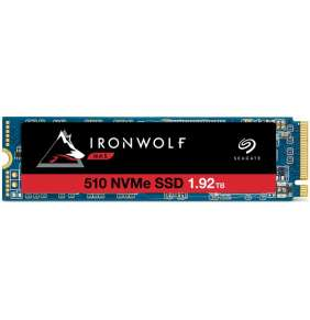 SEAGATE SSD 1.92TB IronWolf 510, M.2 PCIe Gen3 ×4, NVMe 1.3