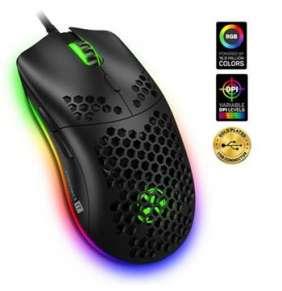 CONNECT IT BATTLE AIR profesionální optická herní myš + SW, ČERNÁ