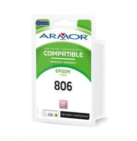 ARMOR ink-jet pre EPSON Stylus Photo R265, R285, R360, RX560, RX585, RX685, 350 strán, T080640, photo mag. ()