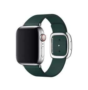 Apple Watch 40mm Forest Green Modern Buckle Band - Medium