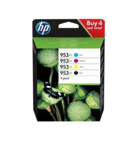 HP 953XL High Yield C/M/Y/K Original Ink Cartridge  4-pack