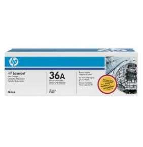 HP 36A Black LJ Toner Cart, 2 000 str, CB436A