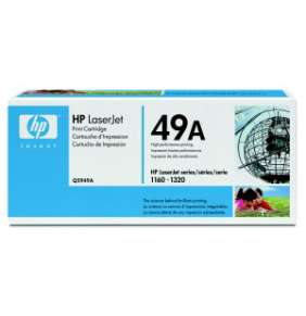 HP 49A Black LJ Toner Cart, 2 500 str, Q5949A