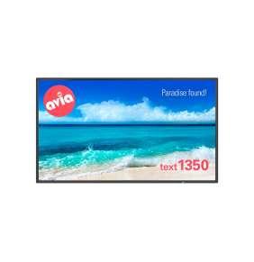 """NEC 40"""" velkoformátový display P404 - 24/7, 1920 x 1080, 700cd, 4mm protection glass, bez stojanu"""