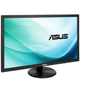 """ASUS VP248H 24""""W LED 1920x1080 Full HD 100mil:1 1ms 250cd HDMI D-Sub Repro čierny"""