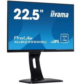 """23"""" iiyama XUB2395WSU-B1 - IPS,1920x1200,4ms,250cd/m2, 1000:1,16:10,VGA,HDMI,DP,USB,repro.,pivot"""