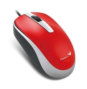Genius myš DX-120/ drátová/ 1200 dpi/ USB/ červená
