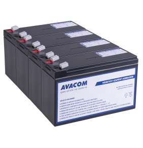 Bateriový kit AVACOM AVA-RBC133-KIT náhrada pro renovaci RBC133 (4ks baterií)