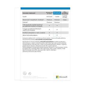 Microsoft 365 Personal Eng - předplatné na 1 rok