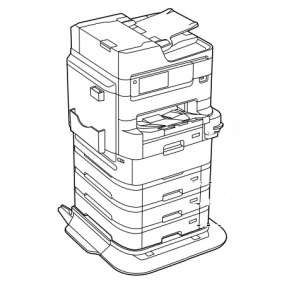 EPSON WF-C878R/WF-C879R Printer Stand