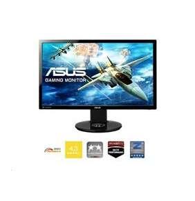 """ASUS VG248QE 24""""W 3D 1920x1080 FHD 144Hz 80mil:1 1ms 350cd DVI HDMI DP repro čierny"""