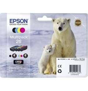 EPSON cartridge T2616 (black/cyan/magenta/yellow) multipack (lední medvěd)