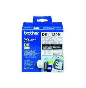 Brother - DK-11209 (papírové/ úzké adresy - 800ks) 29 x 62mm