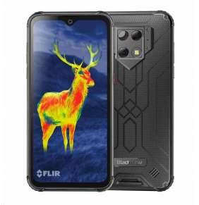 iGET Blackview GBV9800 Pro Thermo, Dual SIM, IP69K, termo kamera, black