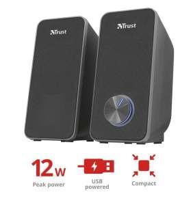 repro TRUST Arys Compact 2.0 speaker set - black