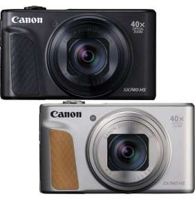 Canon PowerShot SX740HS, Silver , TRAVEL KIT